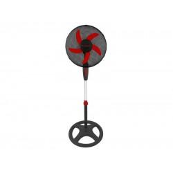 VE117 statiefventilator 40W zwart/rood  Beper