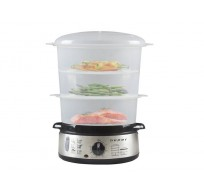 BC.250 stoomkoker roestvrij staal 9L 800W