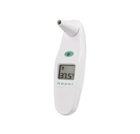 40.102 digitale infrarood oor thermometer 32°C - 43°C wit  Beper
