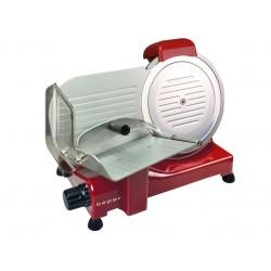 BP.751 vleessnijmachine 25 cm diam. roestvrij stalen blad rood  Beper