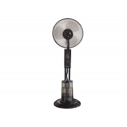 VE.501 ventilator met verstuiver 75W zwart  Beper