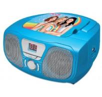 K3 Draagb. Radio/CD-player Blauw CD46K3