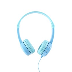 Travel on-ear HPH opvouwbaar met 3 step volume setting blauw  Buddyphones