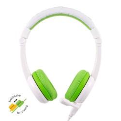 School+ on-ear HPH staafmicrofoon groen  Buddyphones