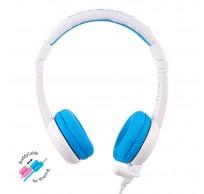 School+ on-ear HPH staafmicrofoon blauw