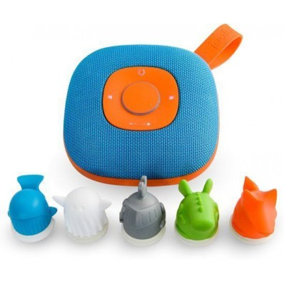 J1000 portable kids speaker blauw/oranje