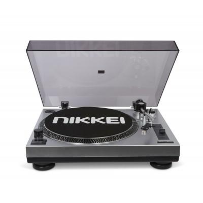 Nikkei NTT15U Draaitafel  Direct Drive Mp3 Encoding via PC Grijs  Nikkei