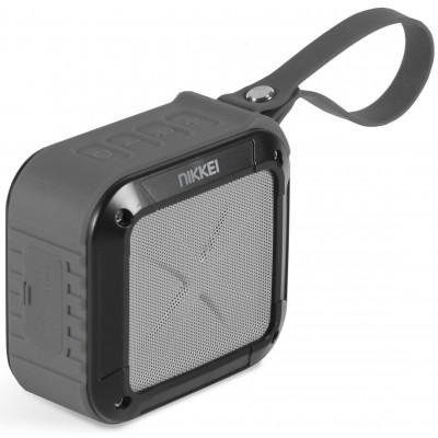 BOXX1GY Waterproof BT Speaker 3W grijs  Nikkei