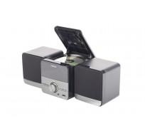 Nikkei NMC306 Microset Radio/CDspeler (MP3) USB line in RC zwart grijs