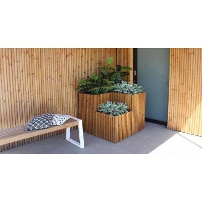 Fibo bloembak 50x50x80  Exterior Living