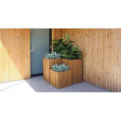Fibo bloembak 100x50x80  Exterior Living