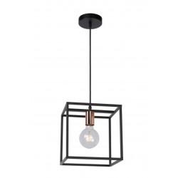 ARTHUR - Hanglamp - E27 - Zwart Lucide
