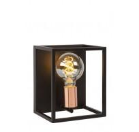 ARTHUR - Wandlamp - E27 - Zwart