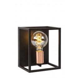 ARTHUR - Wandlamp - E27 - Zwart Lucide