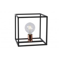 ARTHUR - Tafellamp - E27 - Zwart  Lucide