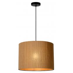 Magius - Hanglamp - Ø 42 cm - 1xE27 - Licht hout Lucide