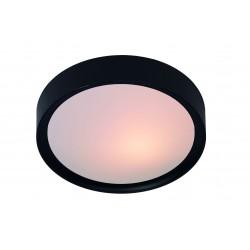 LEX Plafondlicht 2xE27 D33cm Zwart Lucide