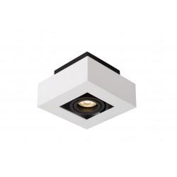 XIRAX Plafondlicht 1xGU10/5W LED DTW Wit Lucide