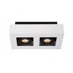 XIRAX Plafondlicht 2xGU10/5W DTW 3000K Wit Lucide