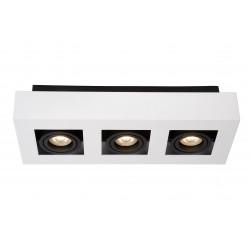XIRAX Plafondlicht 3xGU10/5W LED DTW Wit Lucide