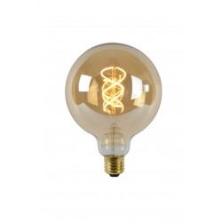 Lamp LED Globe G125 5W 260LM 2200K Dimbaar Amber Lucide