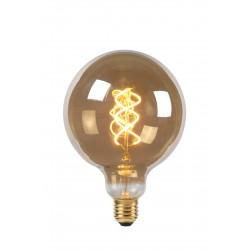 Lamp LED Globe 12.5cm 5W 180LM 2200K Dimbaar Smoke Lucide