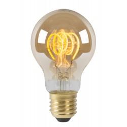 LAMP LED A60 E27/5W 260LM 2200K Dimbaar Amber Lucide