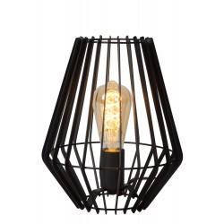 REDA Tafellamp E27/40W H27cm Zwart  Lucide