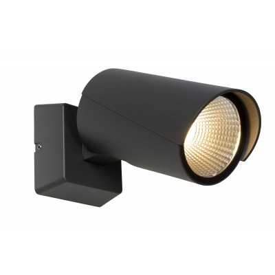 MANAL Wandspot LED 12W Antraciet  Lucide