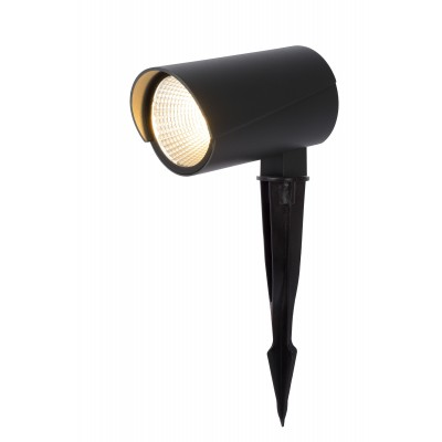 MANAL Tuinspot/Grondspie LED 12W Antraciet  Lucide