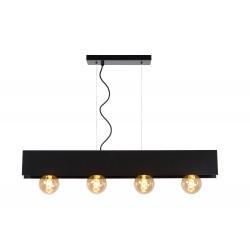 SURTUS Hanglamp 4xE27/60W Zwart Lucide