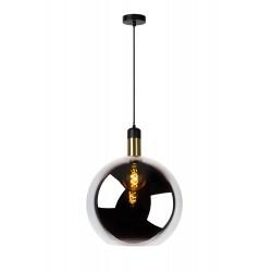 JULIUS Hanglamp 1x E27 Ø 40 cm Smoke Glas Lucide