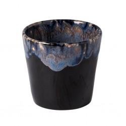 Grespresso Lungo Koffiekop in Aardewerk black 21cl - 8xH7,5cm  Costa Nova