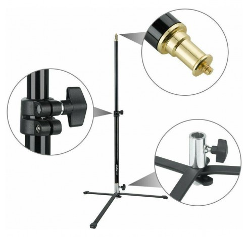 90F Foldable Floor Light Stand with Removable Base  Godox