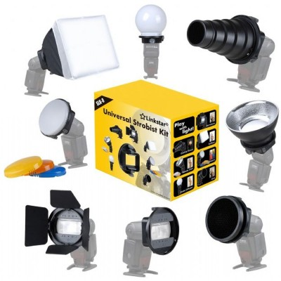 Camera Flitser Strobist Set SLK-8  Linkstar