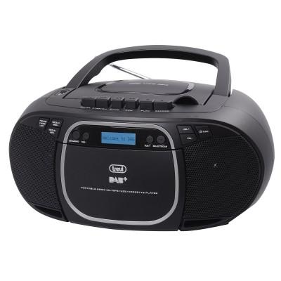 CMP-576 boombox CD/DAB/USB/CAS zwart  trevi