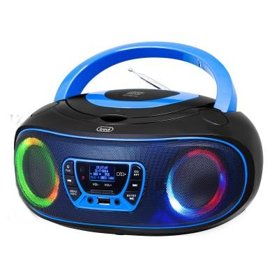 CMP-583 BLUE boombox CD/DAB/USB/RGB blauw  trevi