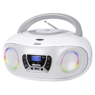CMP-583 WHITE boombox CD/DAB/USB/RGB wit  trevi