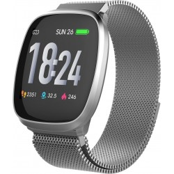 T-FIT-260-HB smart fitness band zilver