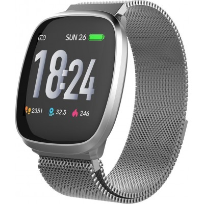 T-FIT-260-HB smart fitness band zilver  trevi