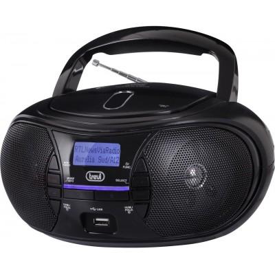 CMP-581-DAB boombox CD/DAB/USB/BT zwart  trevi