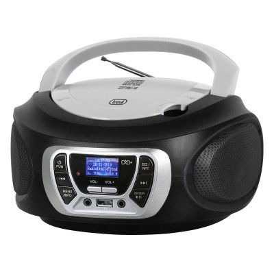 CMP-510-DAB boombox CD/DAB/USB zwart  trevi