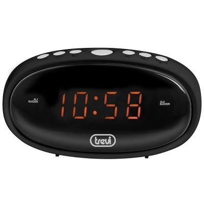 EC-880 wekker dubbel alarm zwart  trevi