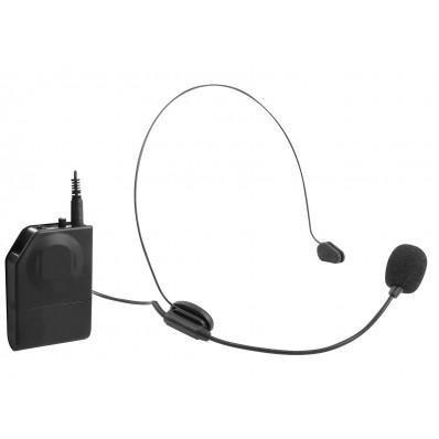 EM-408-R wireless arch/clip mic + transmitter + 63 mm jack receiver zwar