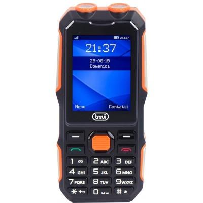FORTE-70 schokbestendige telefoon zwart  trevi