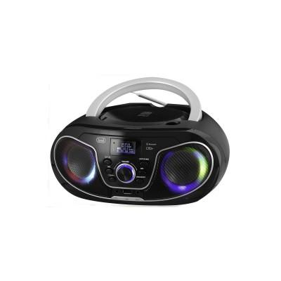 CMP-588 boombox CD/DAB/BT/USB/AUX/RGB zwart  trevi