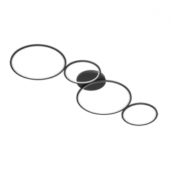 RONDO incl. 1x SMD LED, 37W · 1x 3300lm, 3000K Trio