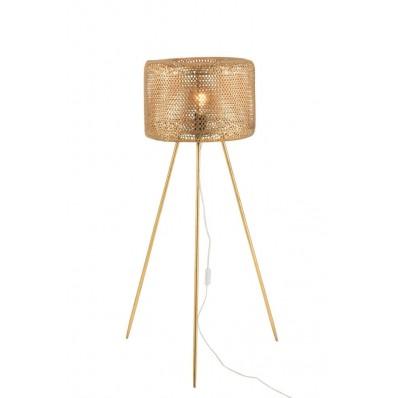 Lamp Driepoot Hoog Metaal Goud Large