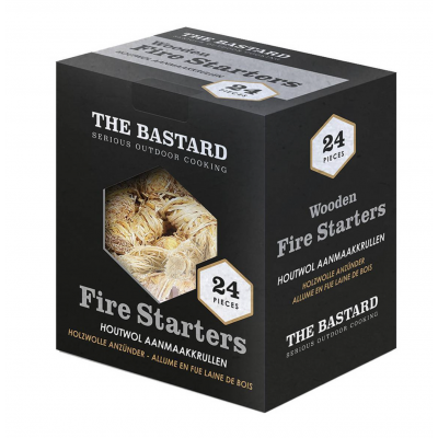 Wooden Fire Starters 24st  The Bastard