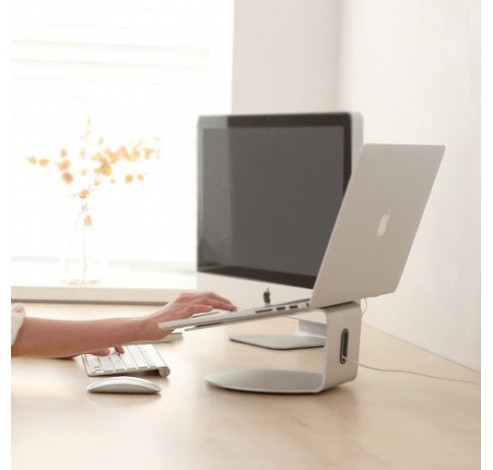 EYES4 Laptopstand 360° Zilver  Pallo